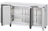 業務用 ホシザキ製 テーブル型 冷蔵庫 RT-180MNCG-ML (旧RT-180MNF-ML)(幅1800奥行600高さ800) 内装カラー鋼板 センターフリー