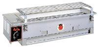 山岡金属工業(シルクルーム)製 ガスバーナー付炭焼器 S-610 赤鬼次郎II