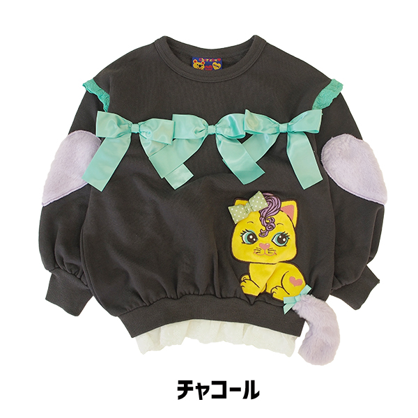 80b9fa376b6d ☆Child children's clothes of the remainder only ☆ 31820123  チェリッチュセールレディキティワイド TR trainer parent and child coordinates matching kids ...