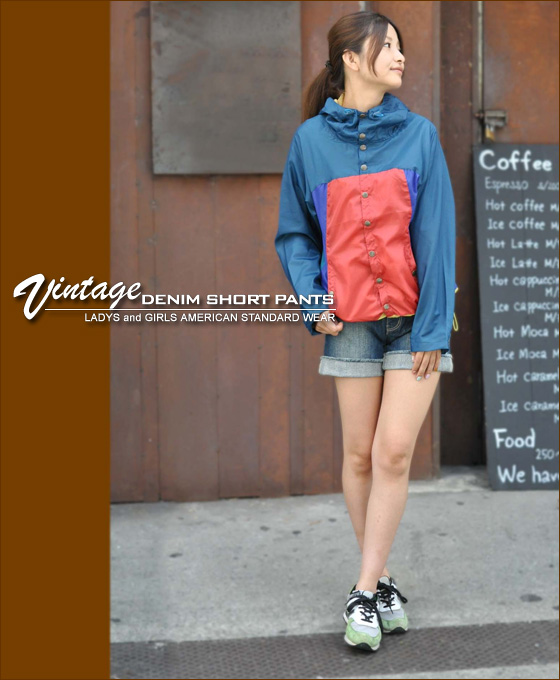 [Kansai girls style s] 10th anniversary commemorative SALE vintage denim shorts ★ ♪ [shipping]