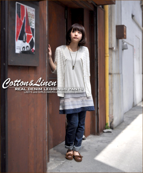 Final! They SALE54% [Kansai Girlz style s] cotton hemp ★ real-denimleggins pants ♪ vol.6