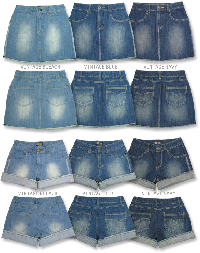 [Kansai Girlz style s] SALE vintage denim ★ shorts and miniskirts ♪ [shipping]