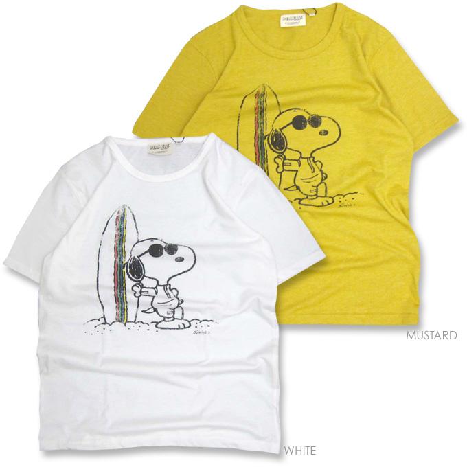 Gerard en * [grn×PEANUTS] Snoopy SURF ★ collaboration t-shirt