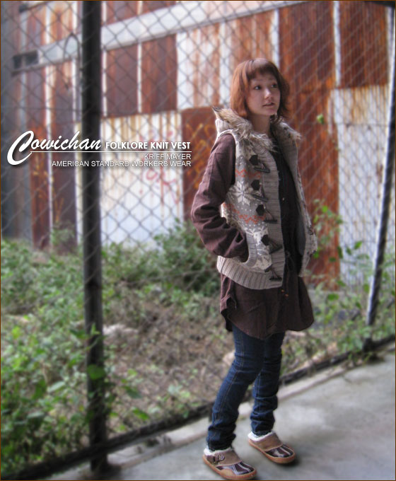 Cowichan pattern ★ knit Jacquard guard best