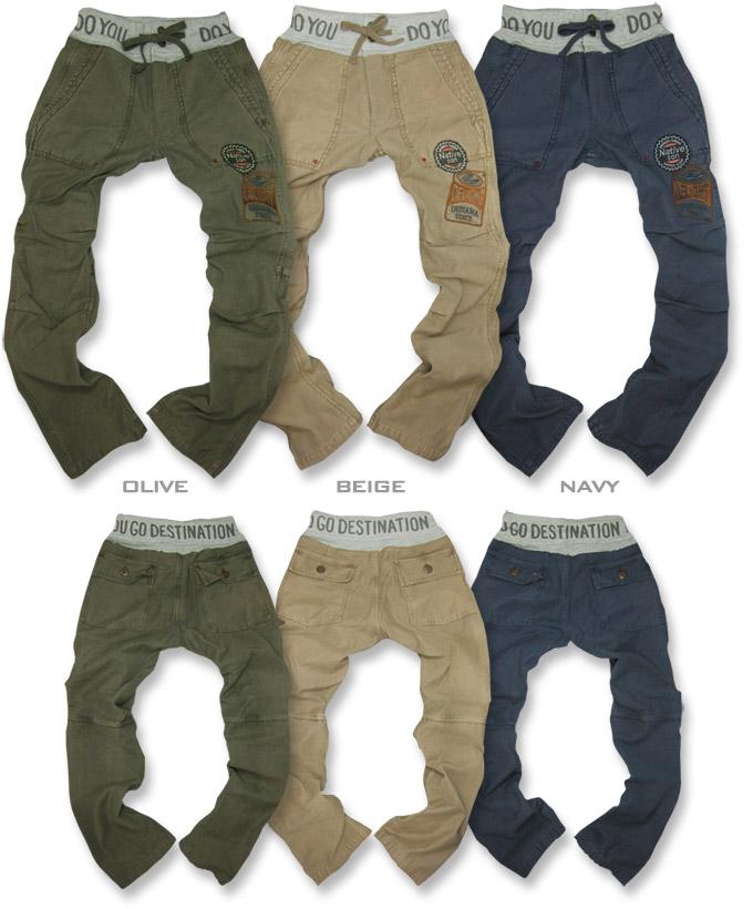WestLB ★ patch * Baker pants