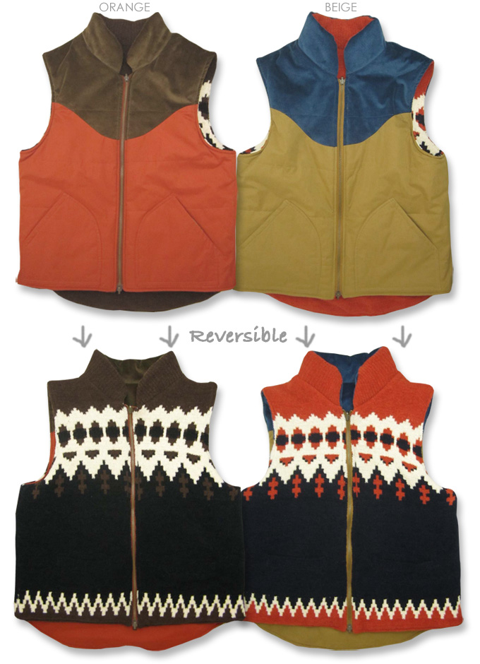 Cliff Meyer * Boucle * Silicon processing ★ reversible vest