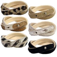 SALE49% [] Huracan ★ W leather bracelet ♪ [shipping]