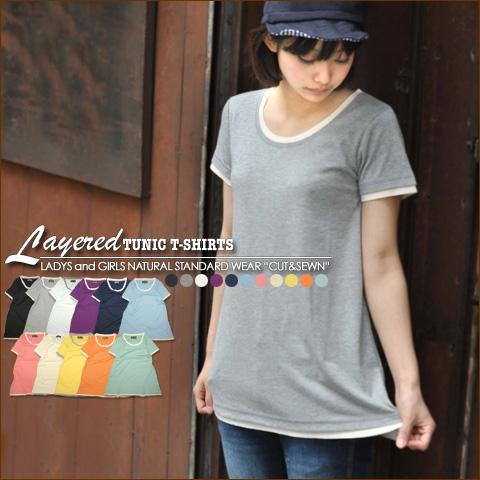 Bargain price loss ☆ [Kansai Girlz style s] ★ tunic T shirt!