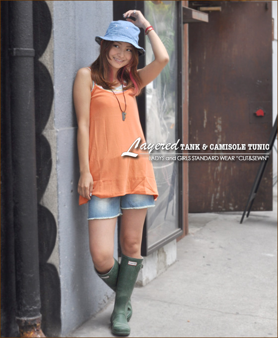 Loss value for money prices! Layered style tanks & CAMI ★ tunic! vol.2