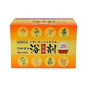 マーケット 希少 ウチダ和漢薬 ウチダの浴剤 30g×10包入×12個 1ケース