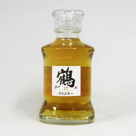 【ミニサイズ】鶴 透明瓶 50ml 17年 43度