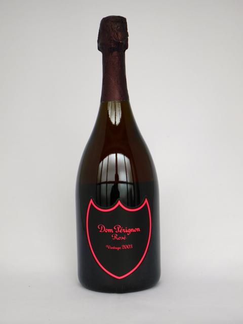 【ルミナスボトル】ドンペリニヨン ロゼ 2003年 正規品 (箱なし)