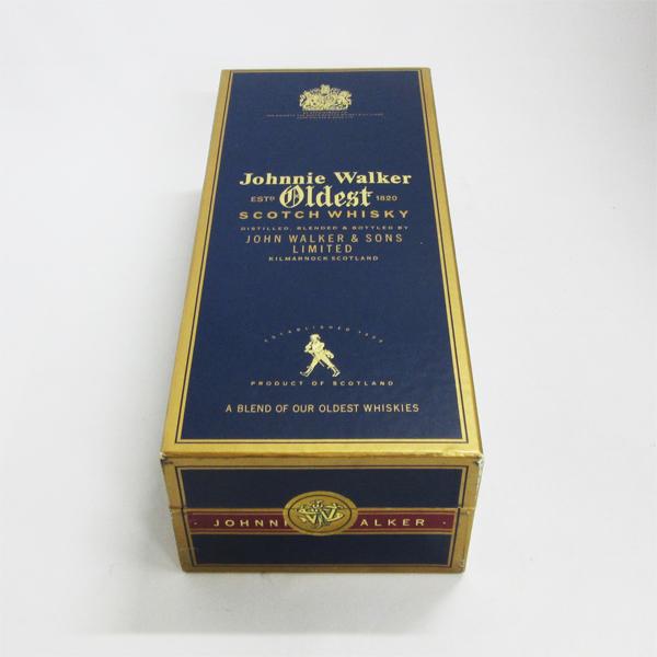 【レトロ】【箱の状態:優良】ジョニーウォーカー オールデスト 43度 750ml 並行品 (専用BOX入)