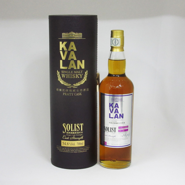 KAVALAN(カバラン) ソリスト ピーティー カスクストレングス 54.8度 700ml 正規品 (専用BOX入り)