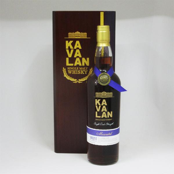 KAVALAN(カバラン) ソリスト モスカテル カスクストレングス 57.1度 750ml 並行品 (専用木箱入り)