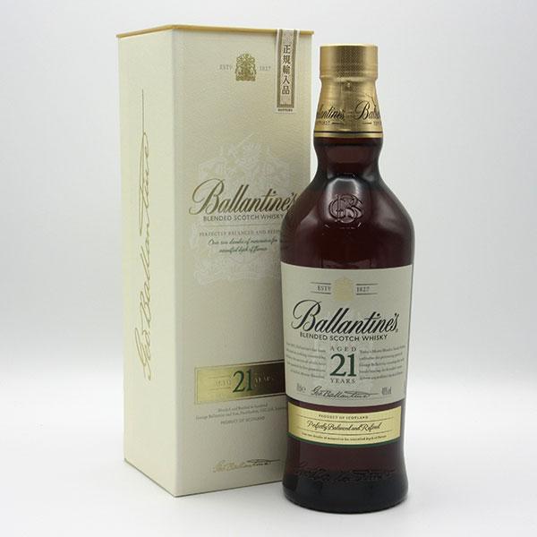 【新パッケージ】バランタイン 21年 40度 700ml 正規品 (ホワイト:専用BOX入り)