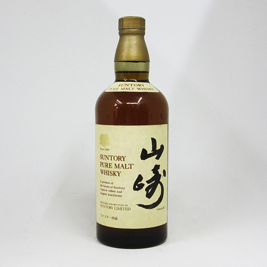 760 ml of Suntory pure malt whiskey Yamasaki 43 degrees (there is no box)