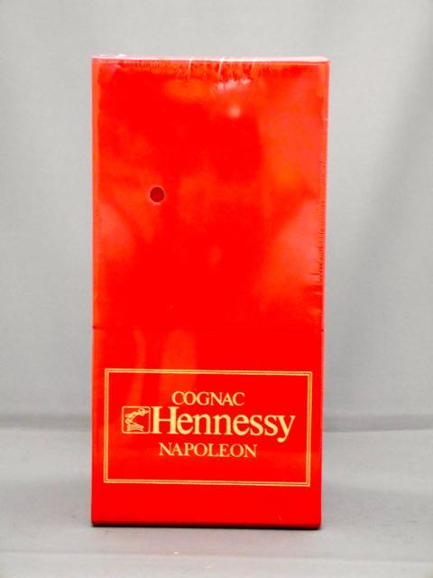 ◆【レトロ】ヘネシー ナポレオン シルバートップ (専用化粧箱入り)◆