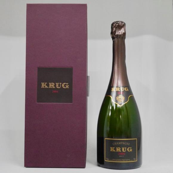 クリュッグ ヴィンテージ 2004年 750ml 正規品 (専用化粧箱入り)