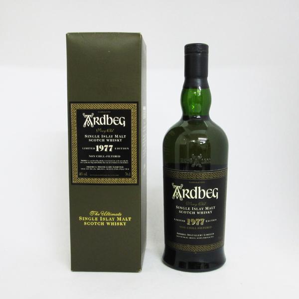【レトロ】アードベッグ 1977 ノンチルフィルタード 46度 700ml (専用BOX入り)