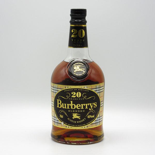 【レトロ】バーバリー 20年 40度 700ml 正規品 (箱なし) Burberrys