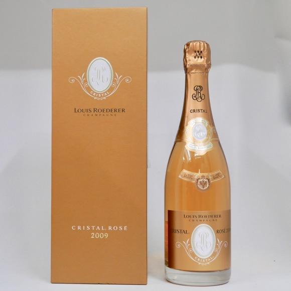 ルイ・ロデレール クリスタル・ロゼ 2009 750ml 正規品 (専用化粧箱付き)