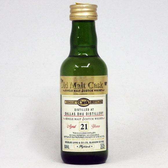 【ミニサイズ】【レトロ】【ダグラスレイン:Old Malt Cask】ダラスデュー 21年 50度 50ml