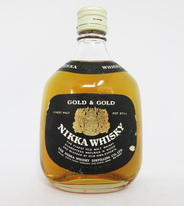 닛카 위스키 GOLD&GOLD 43도 180 ml