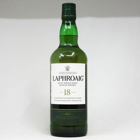 ラフロイグ 18年 48度 700ml 正規品 (箱なし)