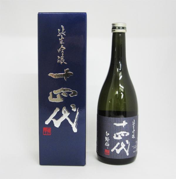 【要冷蔵】十四代 純米吟醸 白鶴錦 720ml (専用BOX入り)