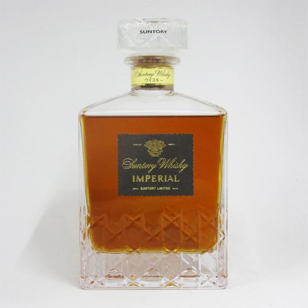 【レトロ】サントリーウイスキー インペリアル 43度 600ml (箱なし)