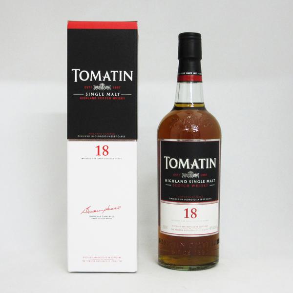 【旧ボトル】トマーティン 18年 46度 750ml 正規品 (専用BOX入)