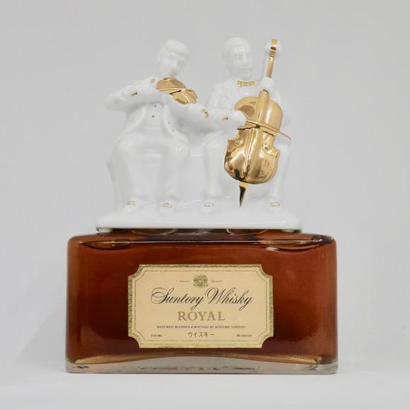 サントリーウイスキー ローヤル 二重奏ボトル 43度 700ml (箱なし)