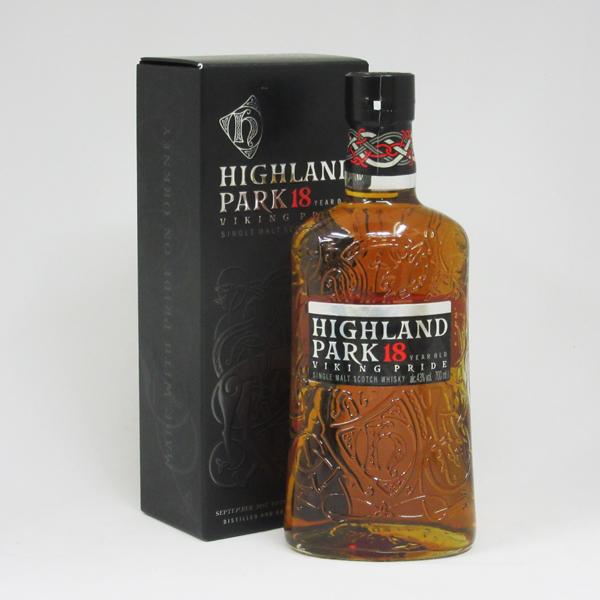 ハイランドパーク 18年 ヴァイキング・プライド 43度 700ml (専用BOX入り)