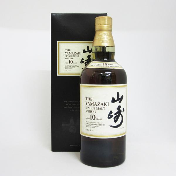 【レトロ】山崎 10年 40度 700ml (ブラック専用化粧箱入り)
