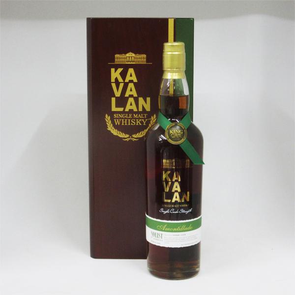 KAVALAN(カバラン) ソリスト アモンティリャードカスク 55.6度 750ml 正規品 (専用木箱入)