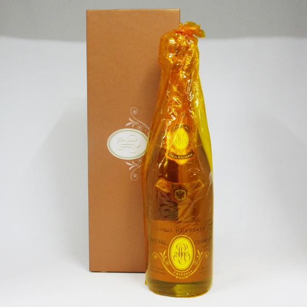 ルイ・ロデレール クリスタル・ロゼ 2005 750ml 正規品 (専用化粧箱入り)