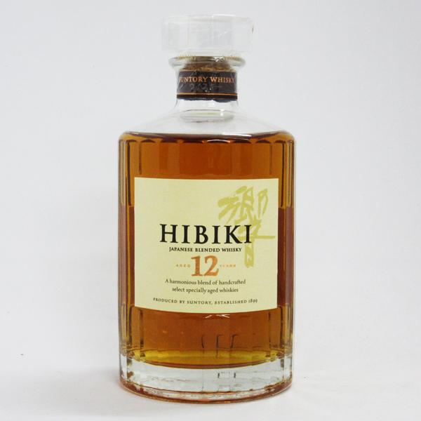 サントリー ウイスキー 響 12年 初期ラベル 43度 700ml (箱なし) 【国産正規品】
