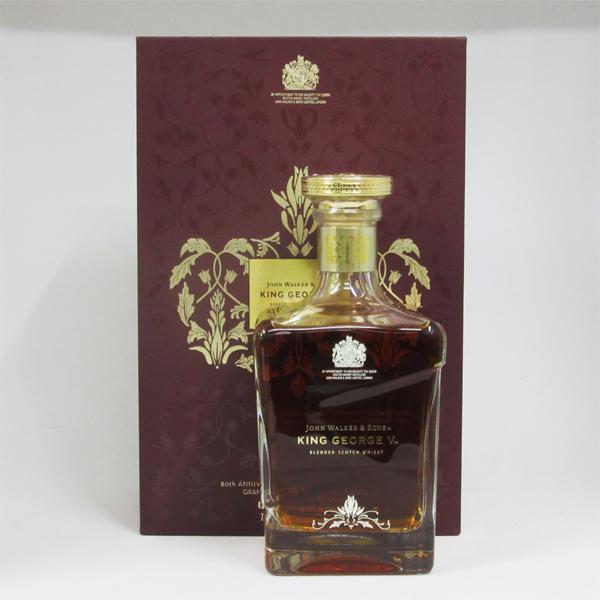 ジョニーウォーカー キングジョージ5世 -ロイヤルワラント80周年記念- 43度 700ml 並行品 (豪華化粧箱入り)