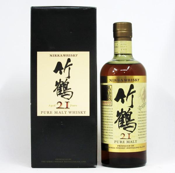 【WWA2010受賞記念ラベル】【旧ボトル】竹鶴 21年 ピュアモルト 43度 700ml (専用化粧箱入) アサヒ ニッカ ウイスキー