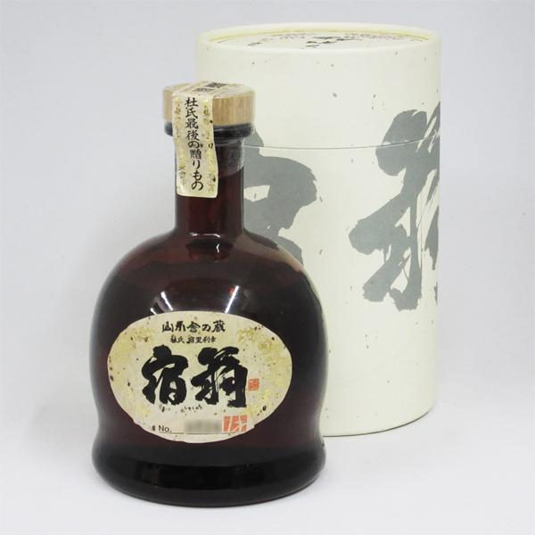 【レトロ】宿扇(しゅくおう) 一回忌 吟香黄麹 43度 720ml (専用BOX入)