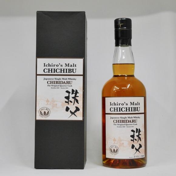 イチローズモルト 秩父 CHIBIDARU(ちびダル) 2009-2013 53.5度 700ml (専用BOX入り)