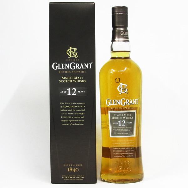 グレングラント 12年 43度 700ml 正規品 (専用BOX入)