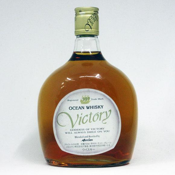 【レトロ】オーシャンウイスキー VICTORY 42度 760ml (箱なし)