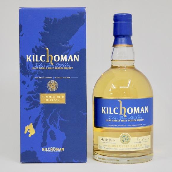 キルホーマン サマー 2010 リリース 46度 700ml 正規品 (専用BOX入)