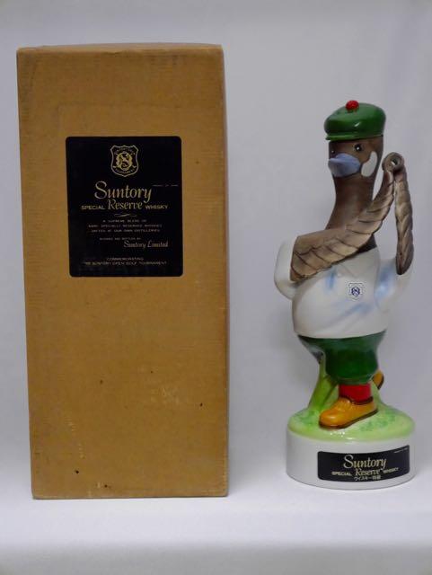 ◆【レトロ】サントリーウイスキーリザーブ '85サントリーオープン記念ボトル 43度 760ml ウイスキー特級 専用BOX入◆