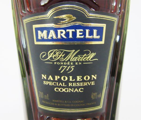 马特尔拿破仑特别留出40度700ml并进进口商品(没有箱子)