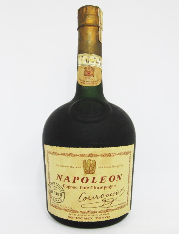 【レトロ:特級表示 1967年以前の流通】クルボアジェ ナポレオン 42度 720ml(江商株式会社)