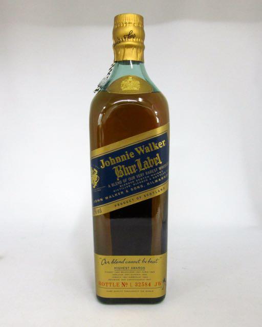 【箱なし:オールドボトル】ジョニーウォーカー ブルーラベル 43度 750ml 並行輸入品