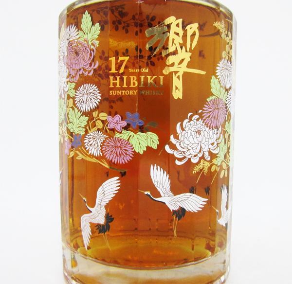 设计瓶<花鸟式三得利威士忌响17年的月>43度700ml(进入BOX)